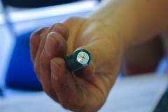 kapotte condensator van de mini koelkast